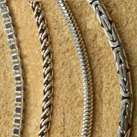 Für dicke männer silberketten Halsketten Männer