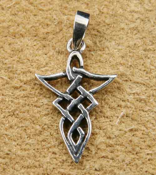 Mittelalter Schmuck keltischer Knoten Silber
