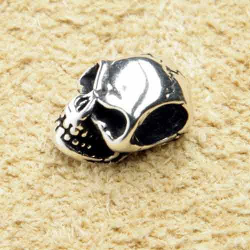 Kleiner Totenkopf Schmuck Silber