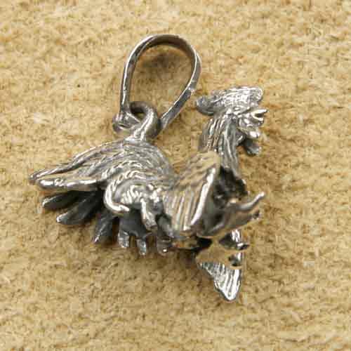 1494f4d4bf41 Hahn Silberschmuck Kettenanhänger
