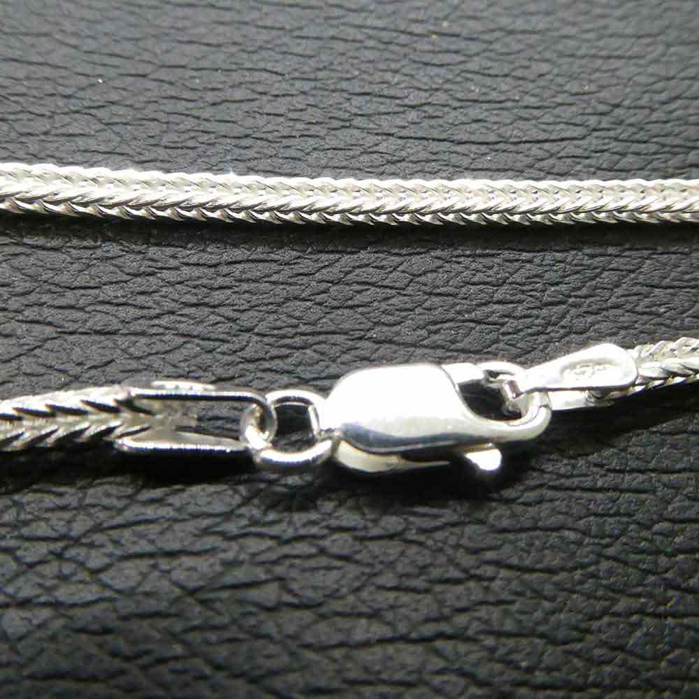40 cm geschmeidige Schlangenkette Silber 925 massive Silberkette Halskette Kette