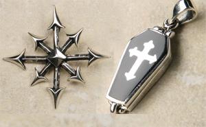 Gothic Silberschmuck Anhänger