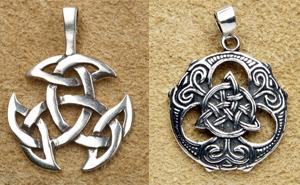 keltische Silberschmuck Anhänger
