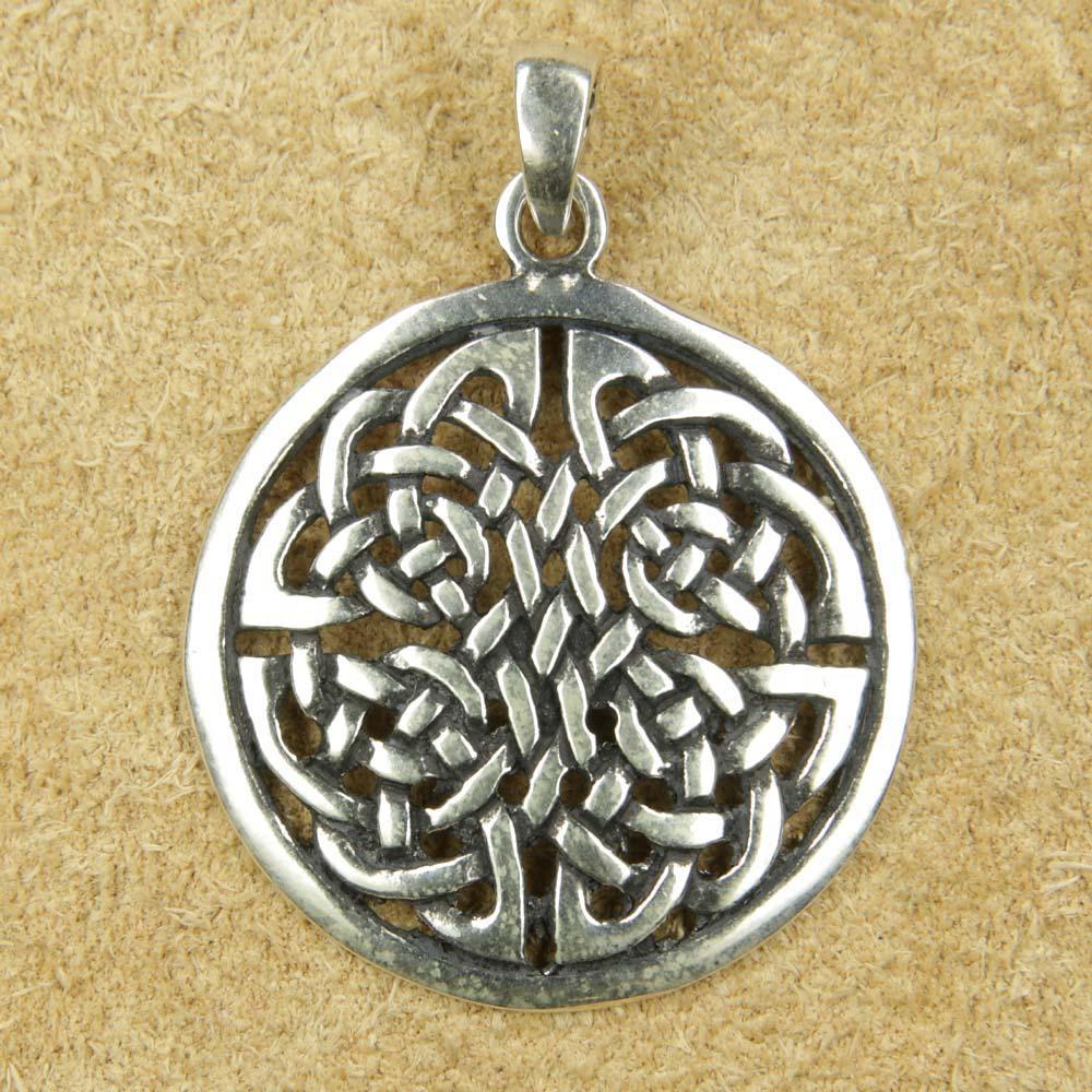 Keltischer schmuck  Vierjahreszeiten 925 Silber keltischer Anhänger