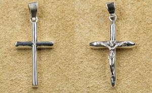 Kreuz Religion Silberschmuck Anhänger