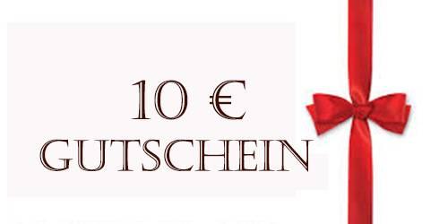 10€ Schmuck Geschenk Gutschein