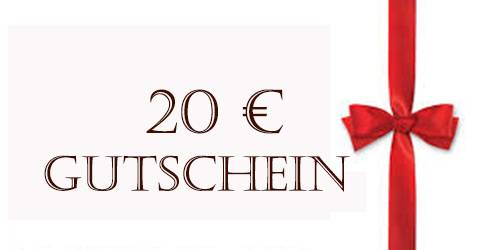 20€ Schmuck Geschenk Gutschein