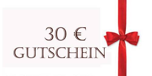 30€ Schmuck Geschenk Gutschein