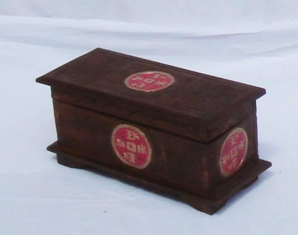 Holztruhe Chinal 39 cm