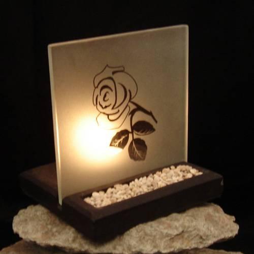 Teelicht Halter Rose