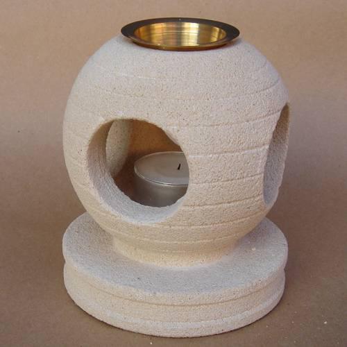 Aromatherapie Duftlampe Stein
