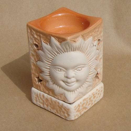 Aromalampe Sonne Keramik