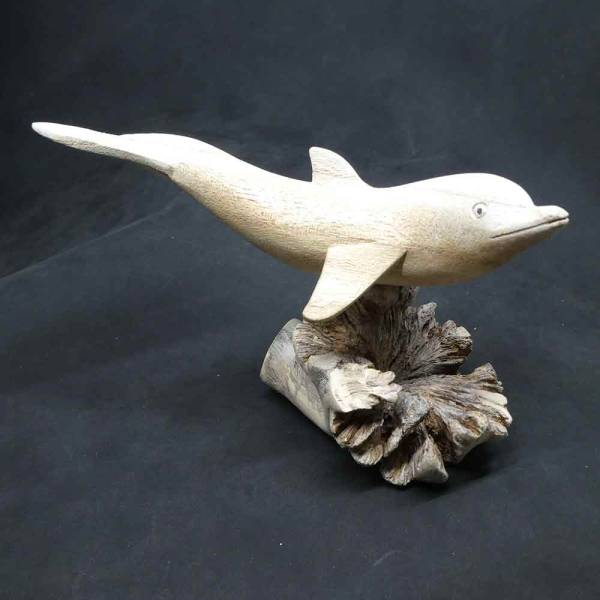 Delfin Schnitzerei Kunst handwerk online