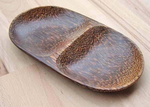 ovale Palmholz Schale