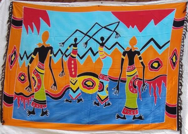 Tuch afrikanische Frauen Dekotuch