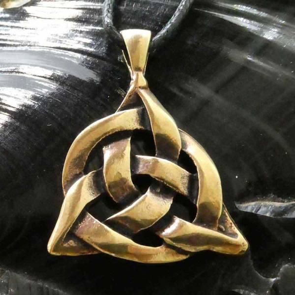 Keltischer Knoten Schmuck Bronze Taliesin