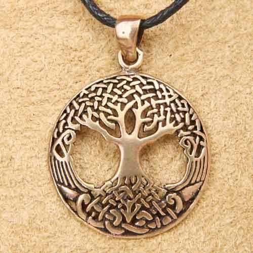 Lebensbaum Anhänger Bronze keltischer Schmuck