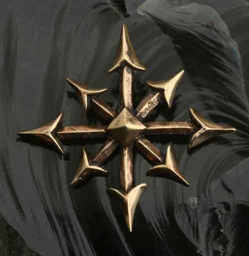 Chaosstern Bronze Schmuck Anh