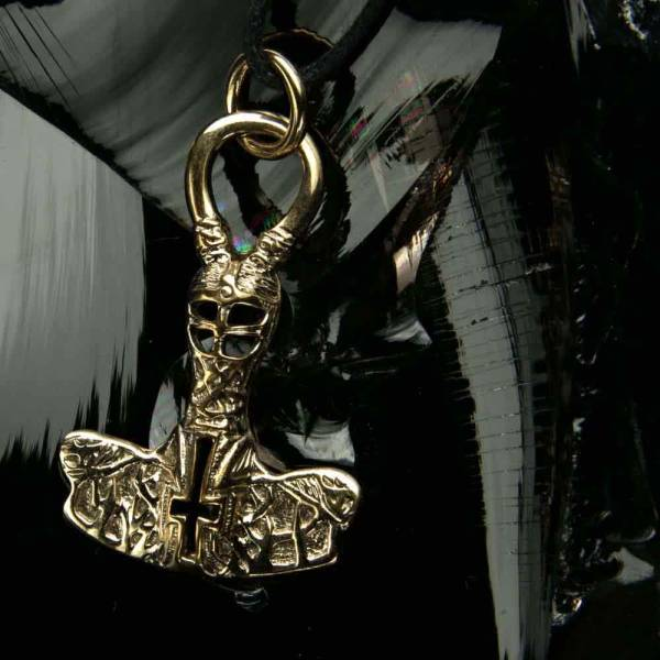 Thor Hammer Schmuck Bronze