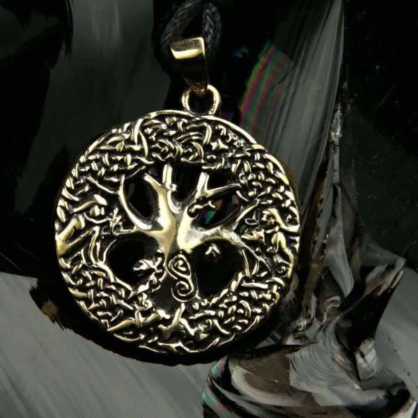 keltischer Lebensbaum Bronze Schmuck
