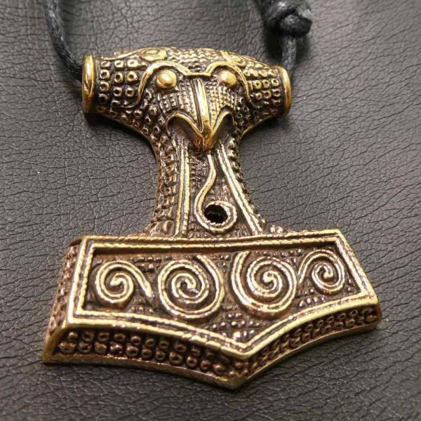 Thorshammer Schmuck Bronze Wikinger