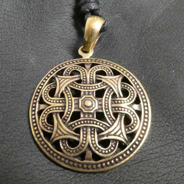 Ornament keltischer Schmuck Bronze Kette
