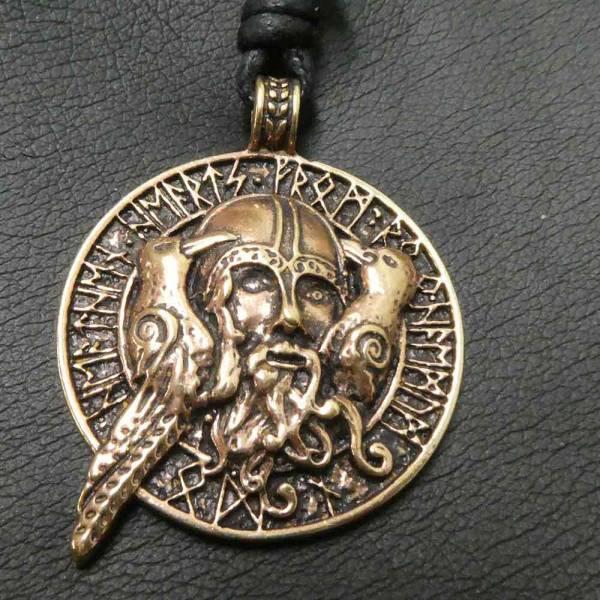 Odin Schmuck Hugin und Muin Runen