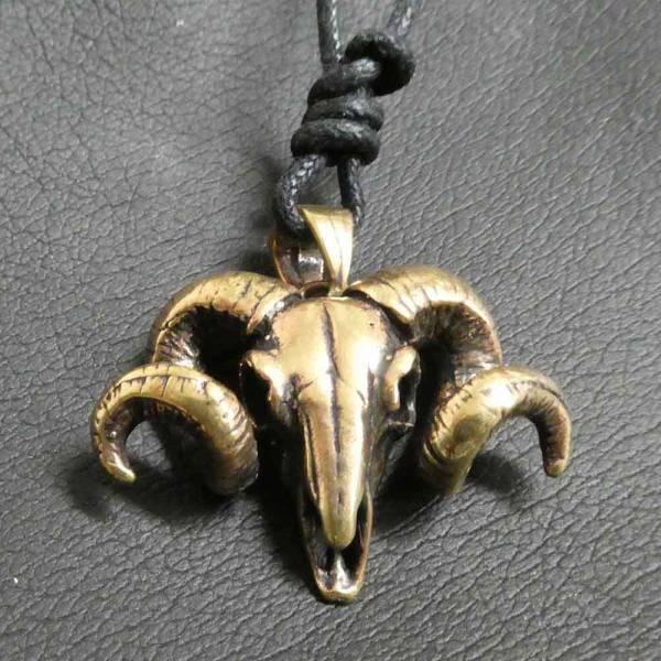 Widder Kette Bronze Schmuck