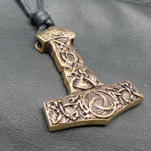Thorshammer Schmuck Bronze groß