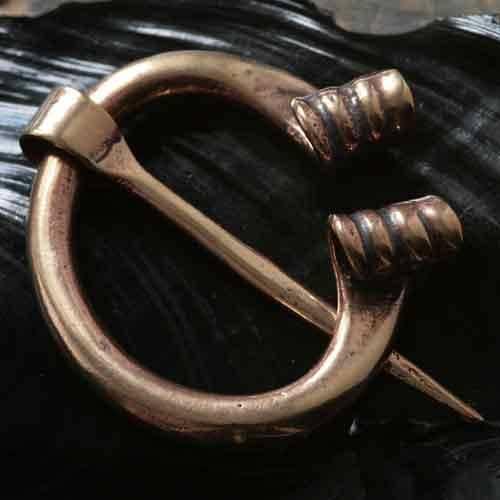 Gewandnadel Bronze Fibel Mittelalter