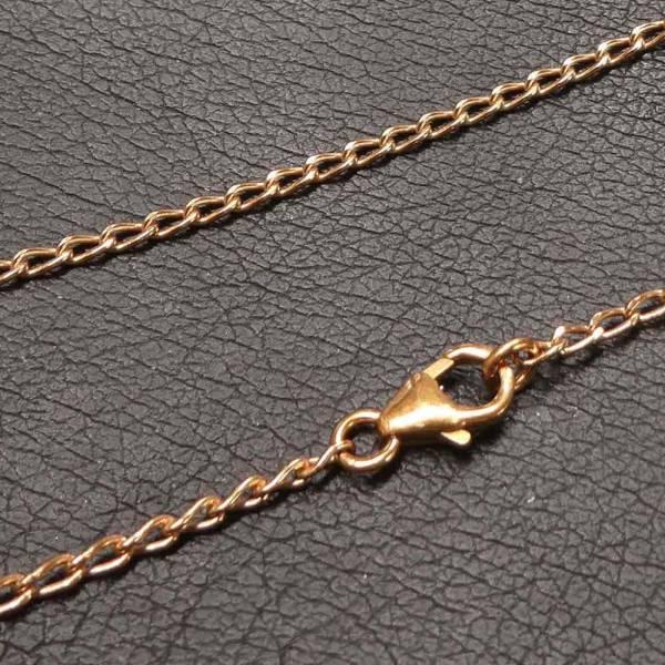 Bronze Halskette 1,5mm Wikinger Kette