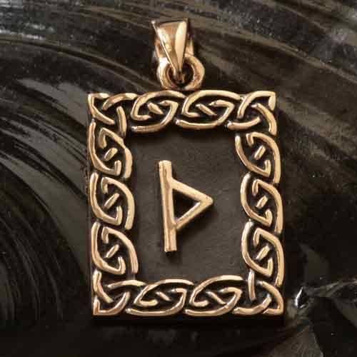 Rune Bronze thurisaz