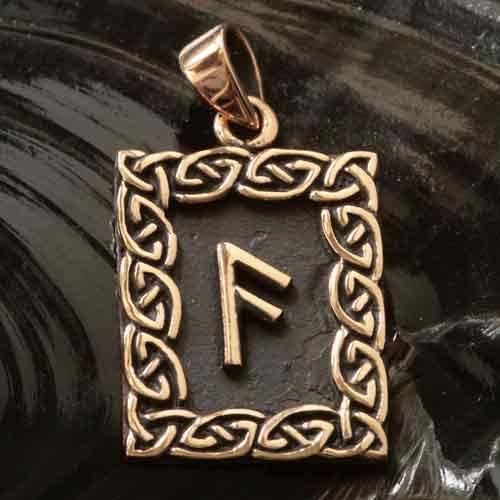 Rune Bronze ansuz