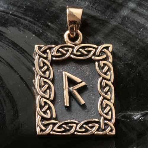 Rune Bronze raidho