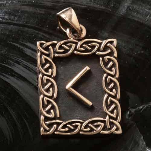 Rune Bronze kaunaz