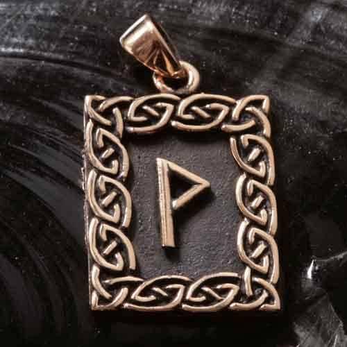 Rune Bronze wunjo