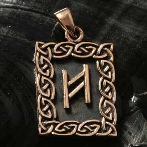 Rune Bronze hagalaz