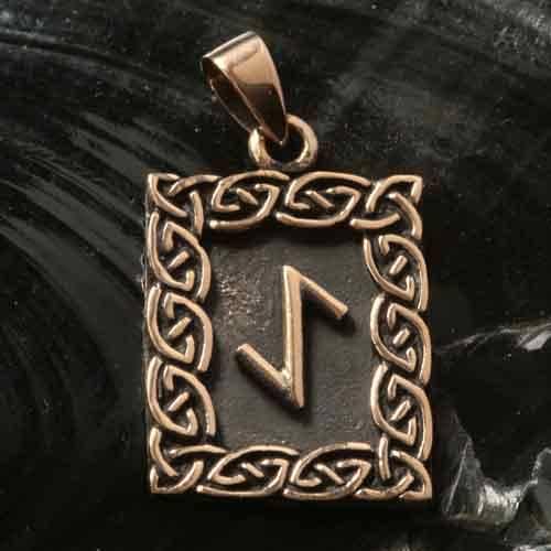 Rune Bronze eihwaz