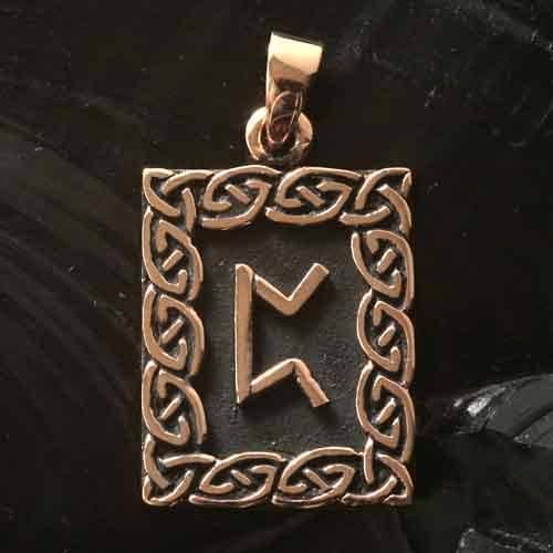 Rune Bronze perthro