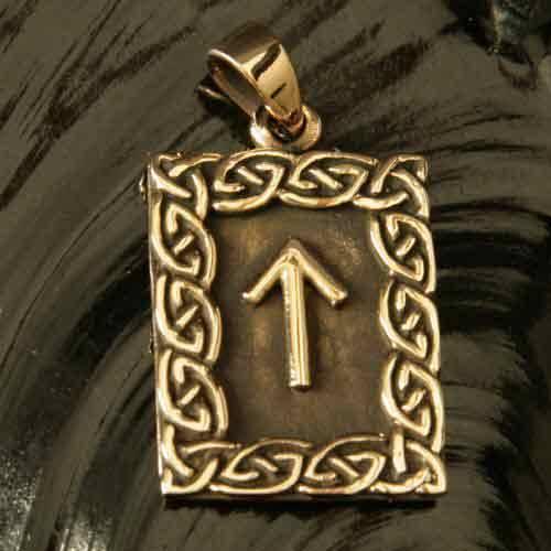 Rune Bronze tiwaz