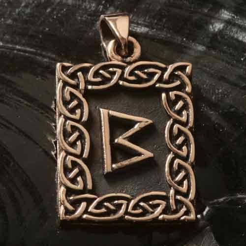 Rune Bronze berkano