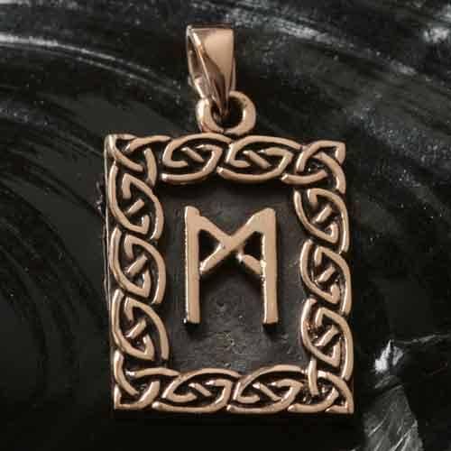 Rune Bronze mannaz