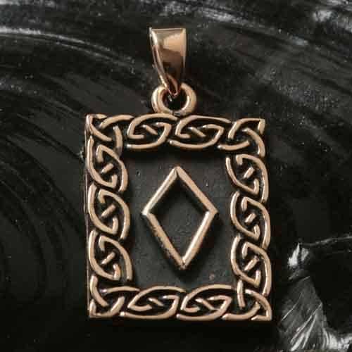 Rune Bronze ingwaz