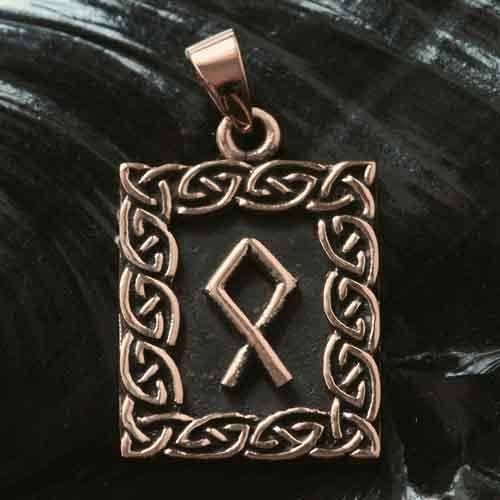 Rune Bronze othala
