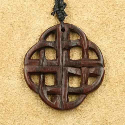 keltischer Holz Schmuck Vierjahreszeiten