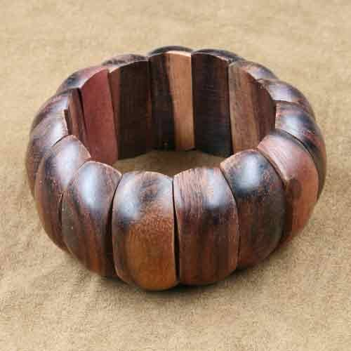 Armband Holzschmuck Round