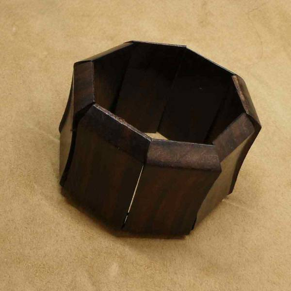 Armband Holz elastisch größenverstellbar