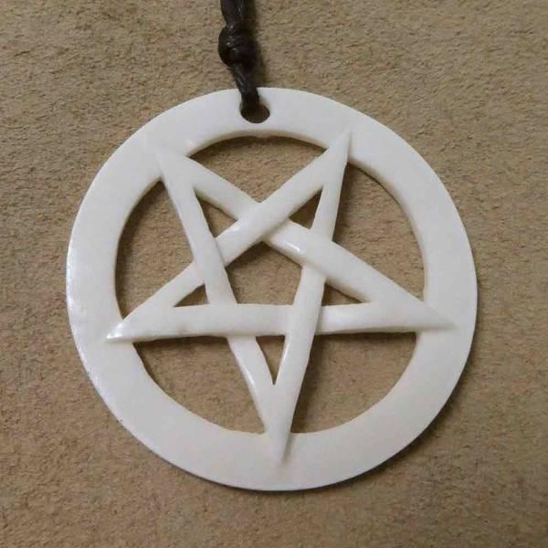 Drudenfuß Schmuck Anhänger Pentagramm