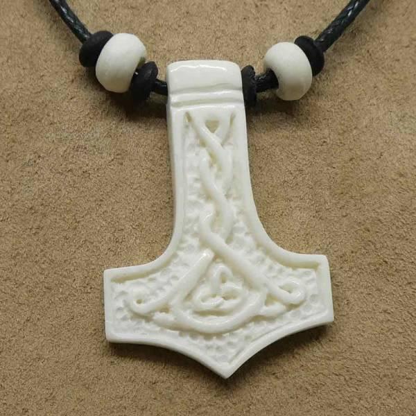 Thorshammer Wikinger Schmuck Halskette