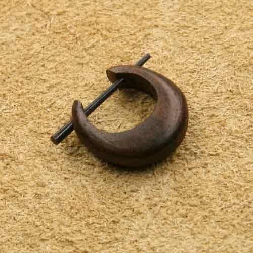 Holzcreole klein 1,5cm Ohrschmuck
